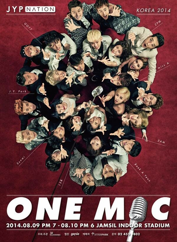 2014 JYP NATION- ONE MIC 香港演唱會