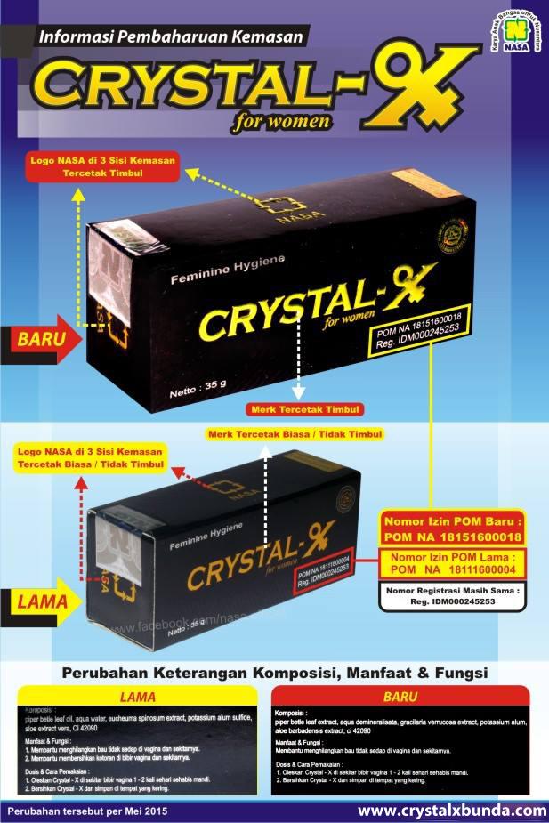 Ciri ciri Crystal X Asli Terbaru | Crystal X Nasa 2015