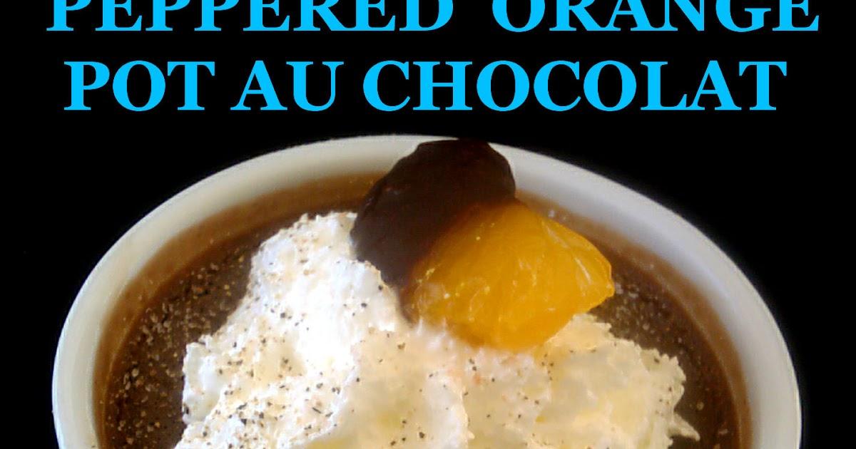 the of tiny foods peppered orange pot de creme au chocolat a