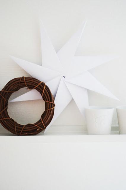 scandinavian paper stars