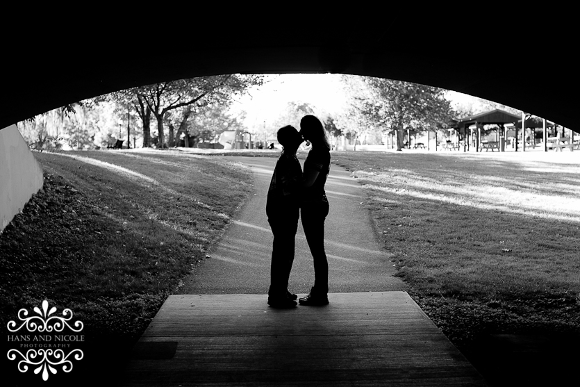 Baker Park Frederick MD Engagement Photo Photographer Photography