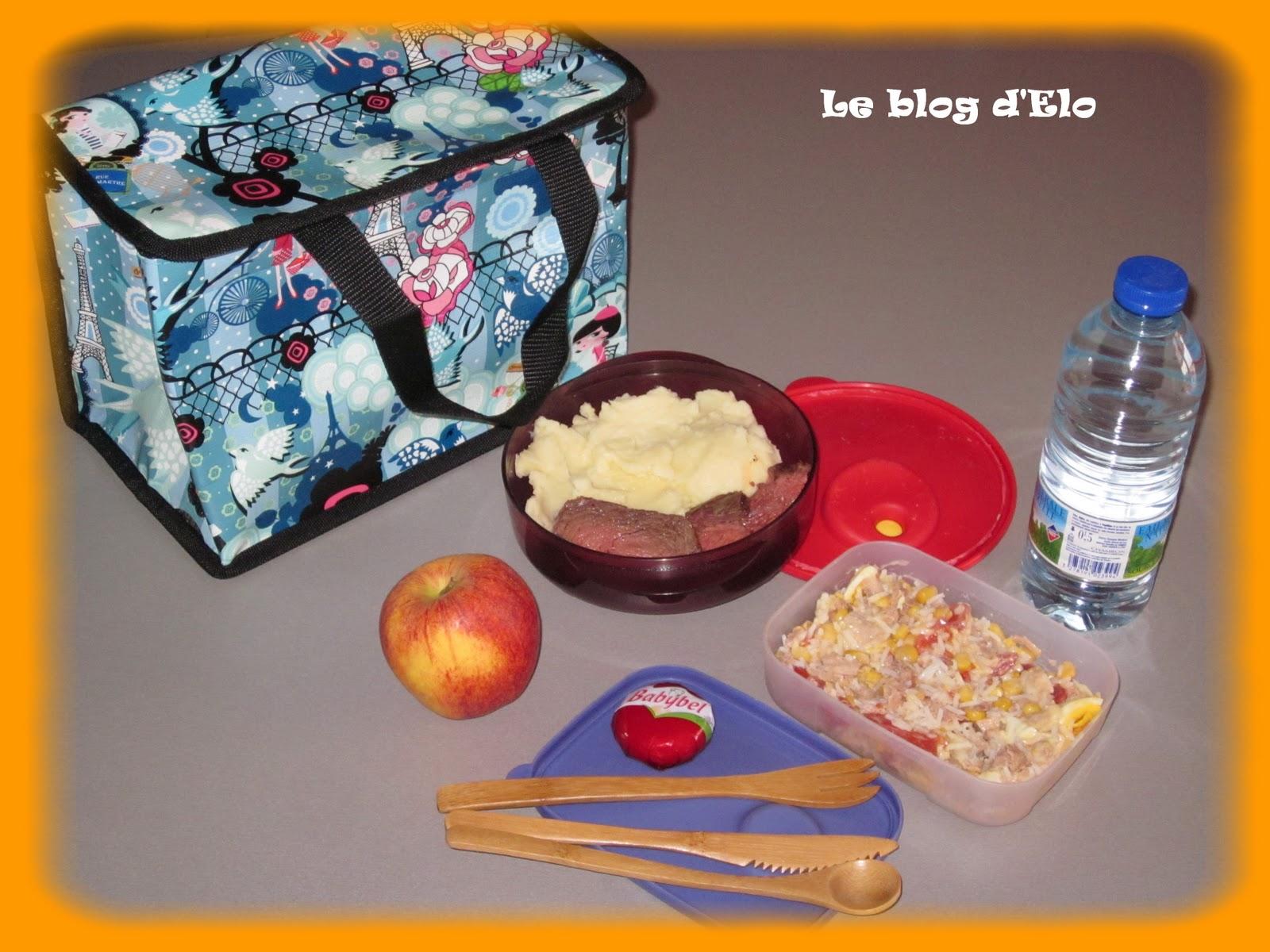 le blog d 39 elo mon bag repas du midi. Black Bedroom Furniture Sets. Home Design Ideas
