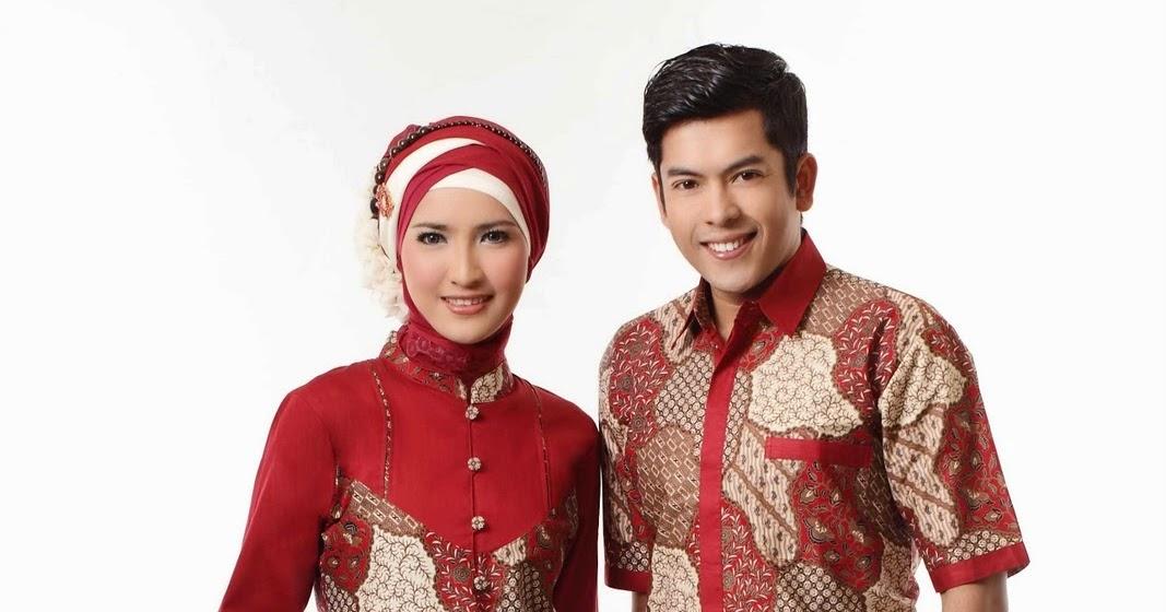 Gamis Batik Kombinasi Terbaik Model Baju Terbaru