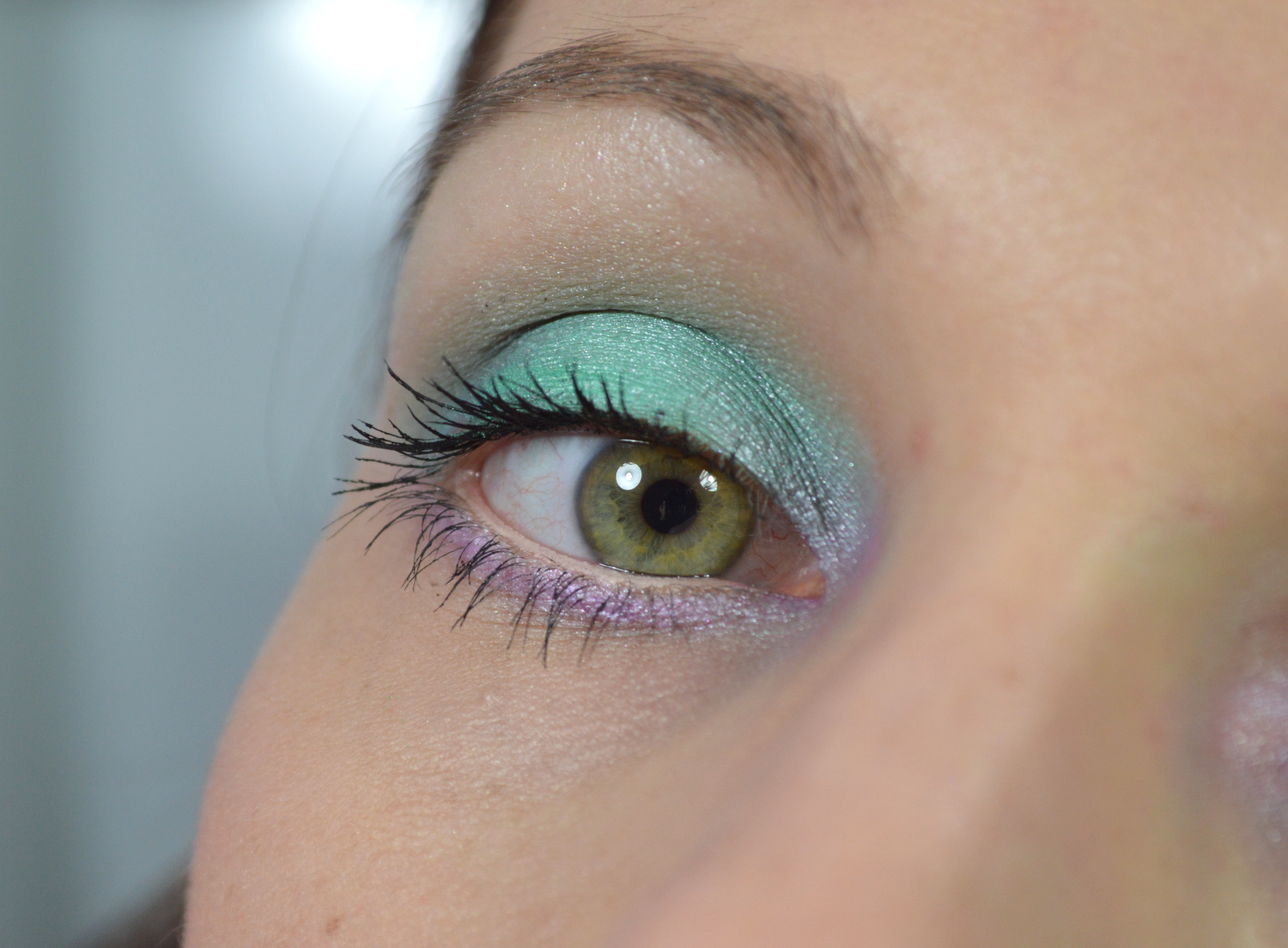 Make up in Pastellfarben