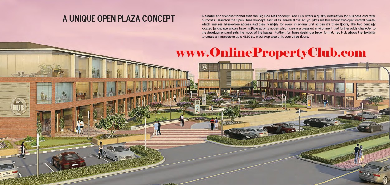 IREO HUB MOHALI COMMERCIAL PROPERTY PROJECT