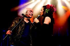 Erasmo Carlos e Marisa Monte na trilha sonora de Salve Jorge