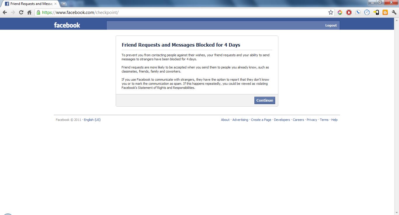 Mengatasi Check Point Facebook Dengan Mudah
