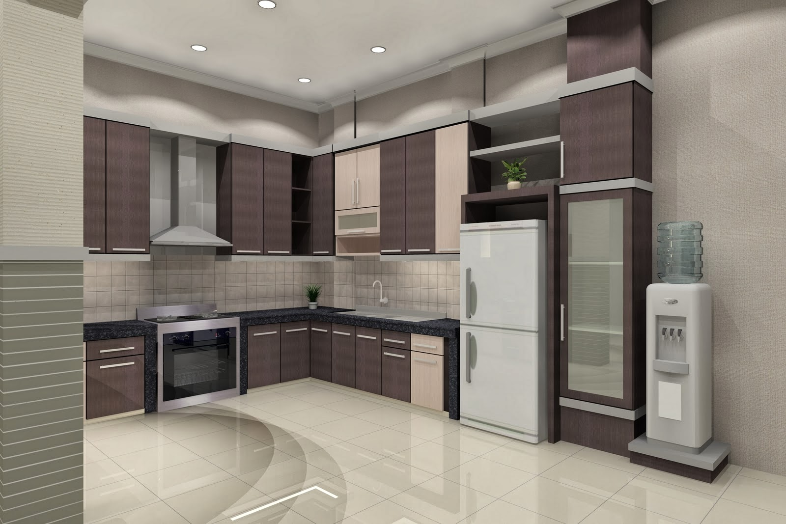 Modern Kitchen Design for Minimalist House 2014, Modern Kitchen Design for  Minimalist House 2014 Remodel