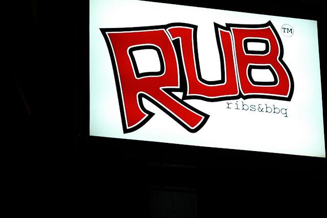 RUB Ribs & BBQ signage