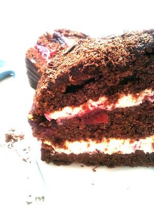 Black forest victoria - szybki tort czekoladowy