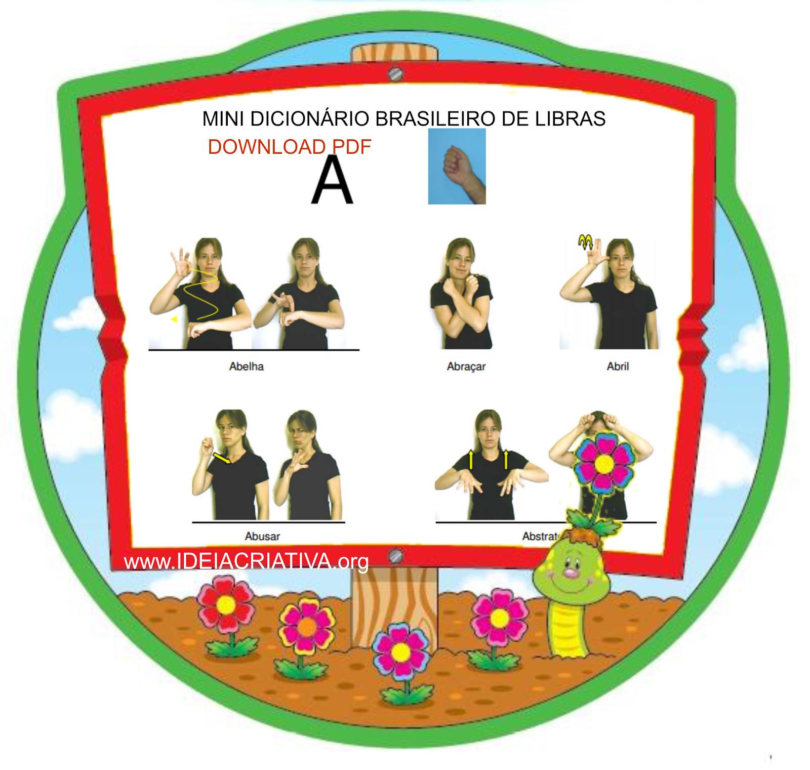Mini Dicionário Brasileiro de Libras