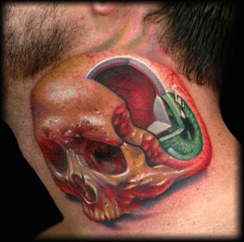 tattoo on eyeball. eyeball tattooing. Tattoos For