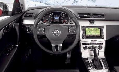 2015 Volkswagen Alltrack interior