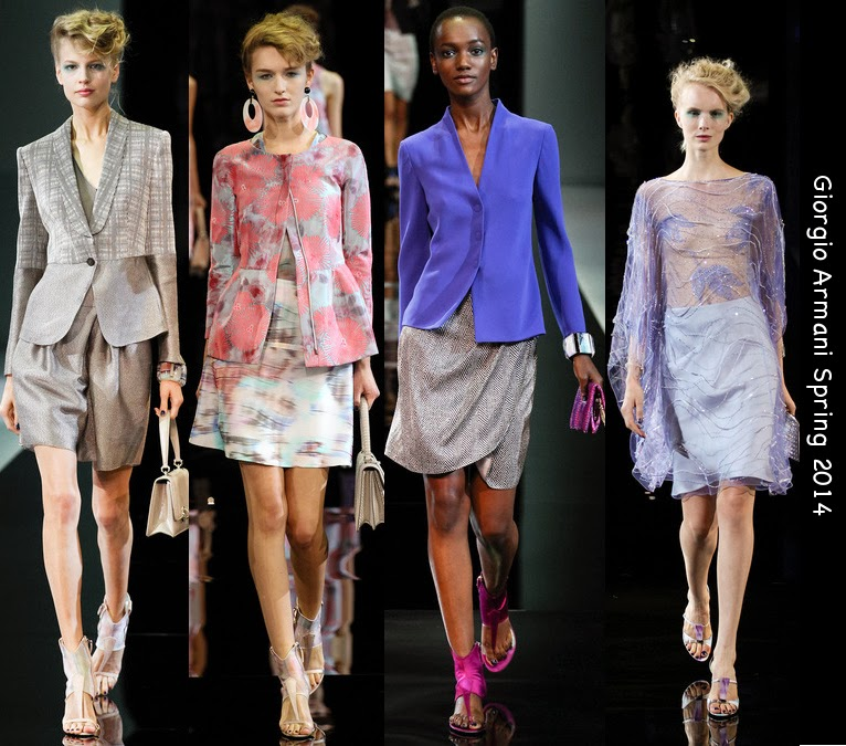 giorgio armani womens spring suits