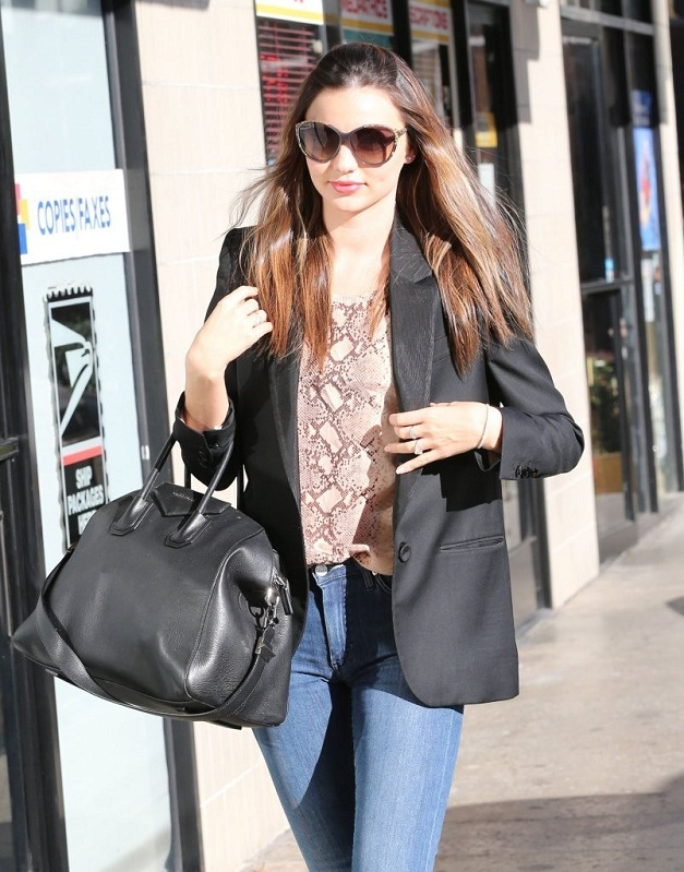 Miranda Cosgrove in Keith Haring by Patricia Fields Jeans ...