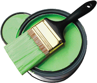 A blonde and a blog when a door closes a paint can opens - Chp call log paint ...
