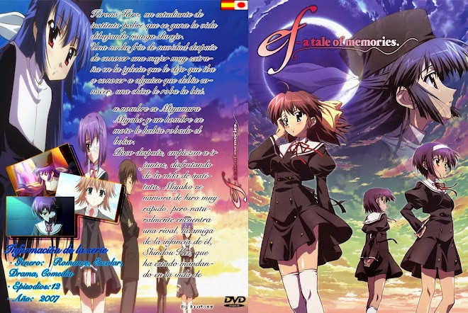 Ef - A Tale Of Memories [12/12][170mb][Anime][Jap]