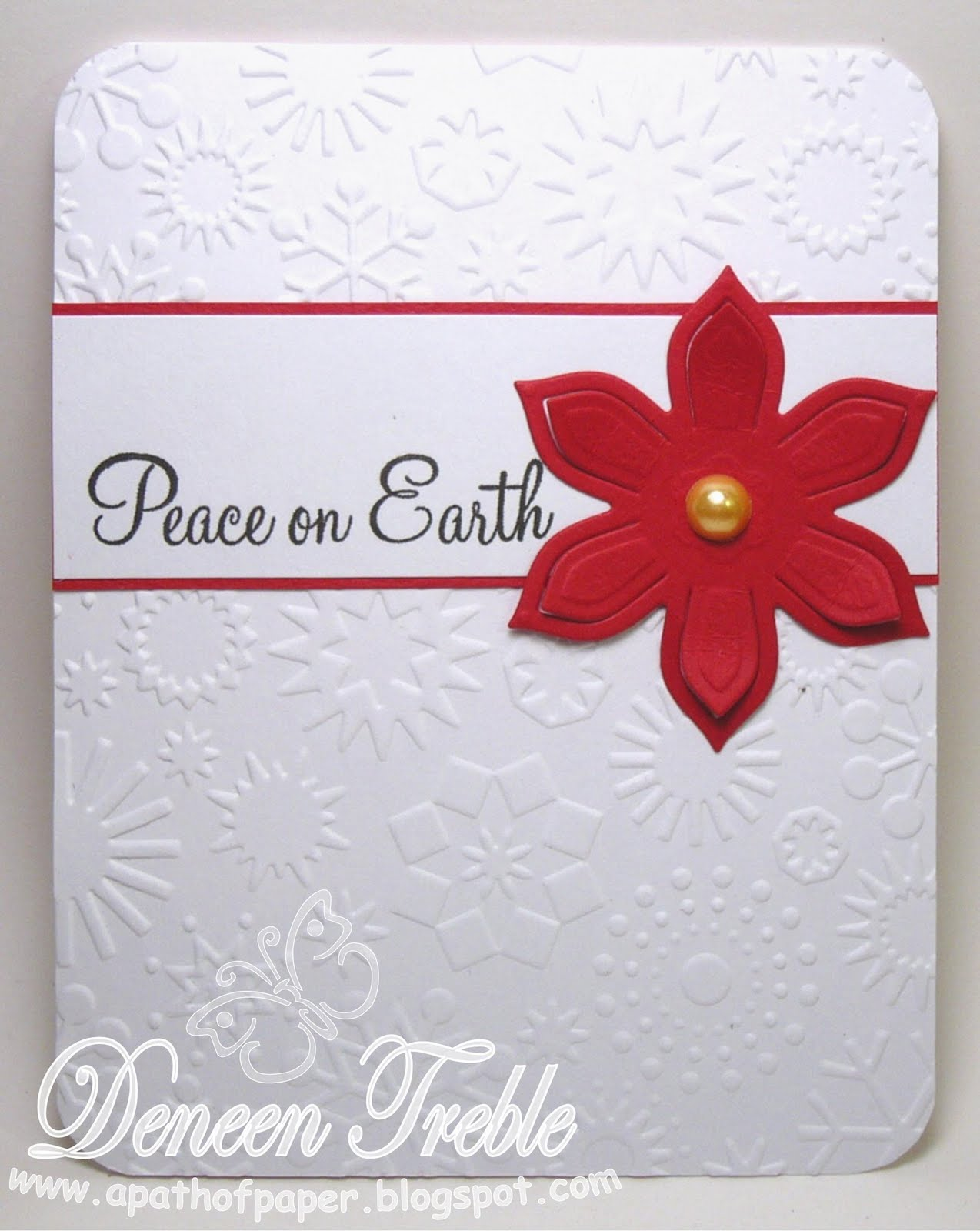 A Path Of Paper Super Quick Christmas Cards