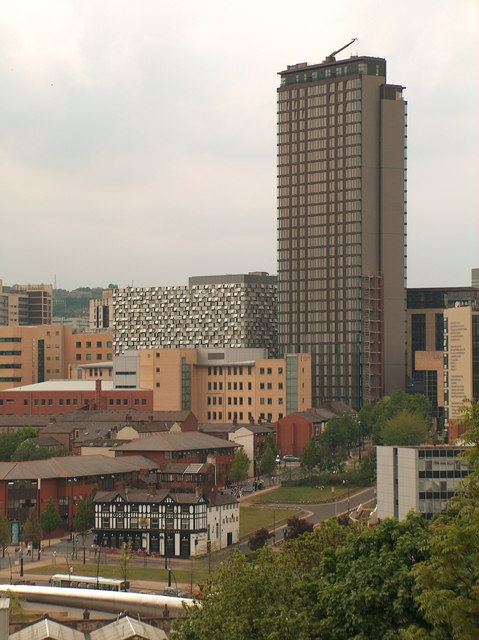 St Pauls Tower, Sheffield, tallest building
