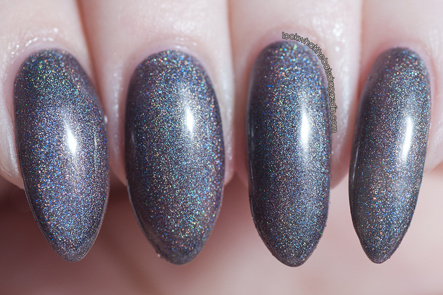 Polished by KPT Belle Ami thermal nail polish swatch warm