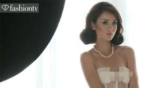 Foto dan Video Julie Estelle Seksi Lingerie Fashion TV Magazine