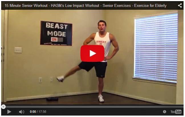 15 Minute Senior Workout