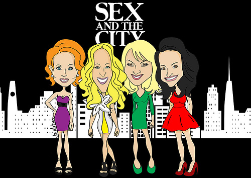 Sex and the city cartoon