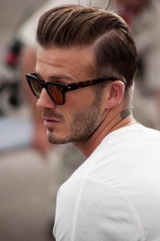 David Beckham Undercut