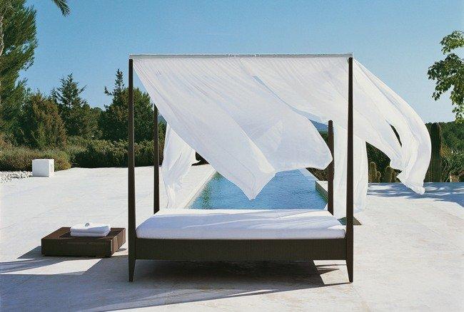 Manualidades decoraci n pintura camas de exterior for Camas balinesas para jardin