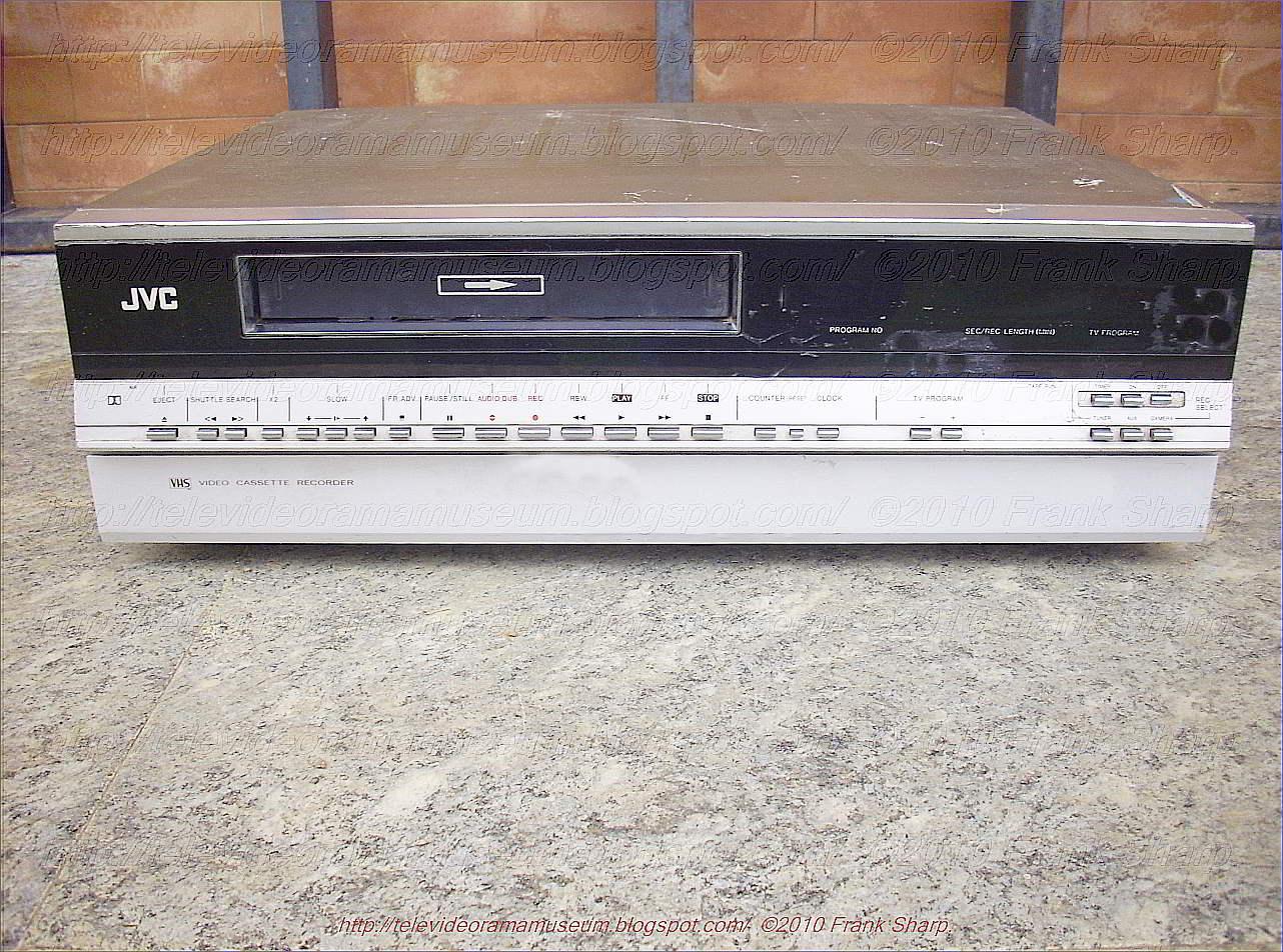 Tele Video Rama Museum !: JVC HR-7700EK YEAR 1980.