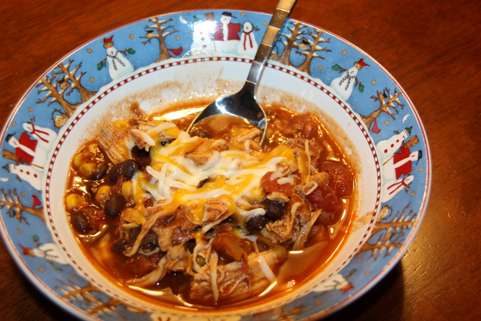 This Mama Loves to Cook: Crock Pot Chicken Taco Chili