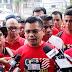 Perhimpunan Panas Gerakan Merah di Kompleks Kota Raya