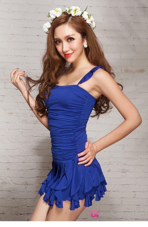 4 Zong Yi Pu - Swimsuit - very cute asian girl-girlcute4u.blogspot.com