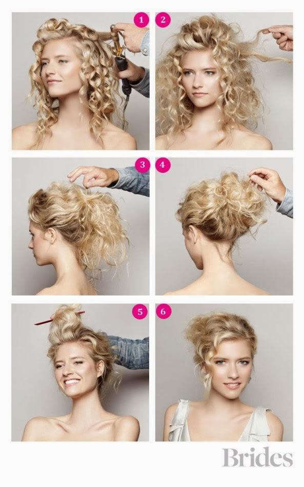 Peinados Rizados Paso A Paso - 4 peinados faciles para pelo rizado YouTube