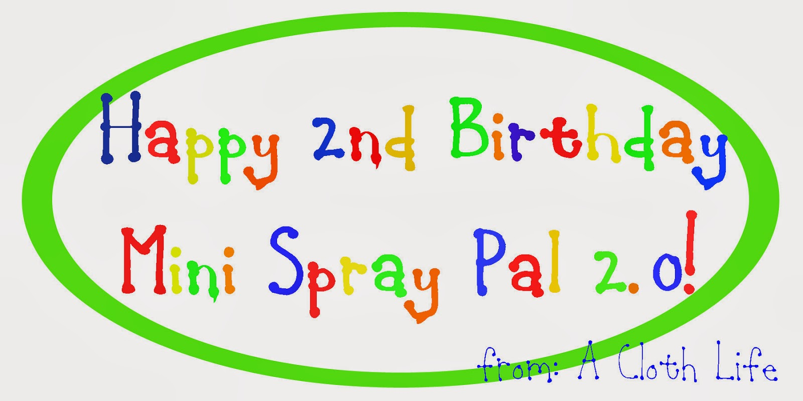 Spray Pal #miniSPbdaybash Giveaway
