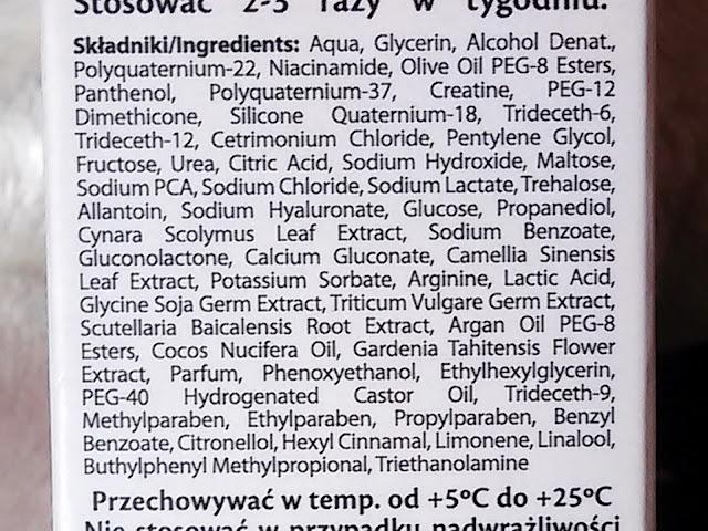 skład serum odmładzającego marion anti age do włosów dojrzałych osłabionych i zniszczonych