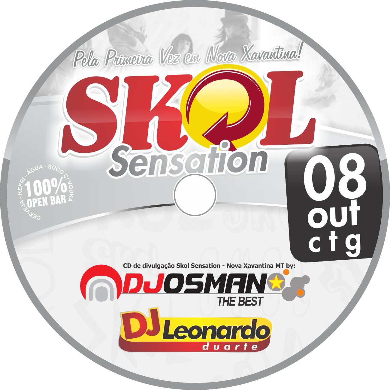 CD DJ Osman Skol Sensation – NejoDance 2011