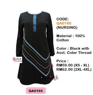 T-Shirt-Muslimah-Qaseh-QA0165