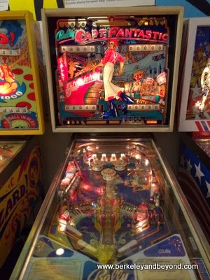 Captain Fantastic machine at Pacific Pinball Museum in Alameda, California