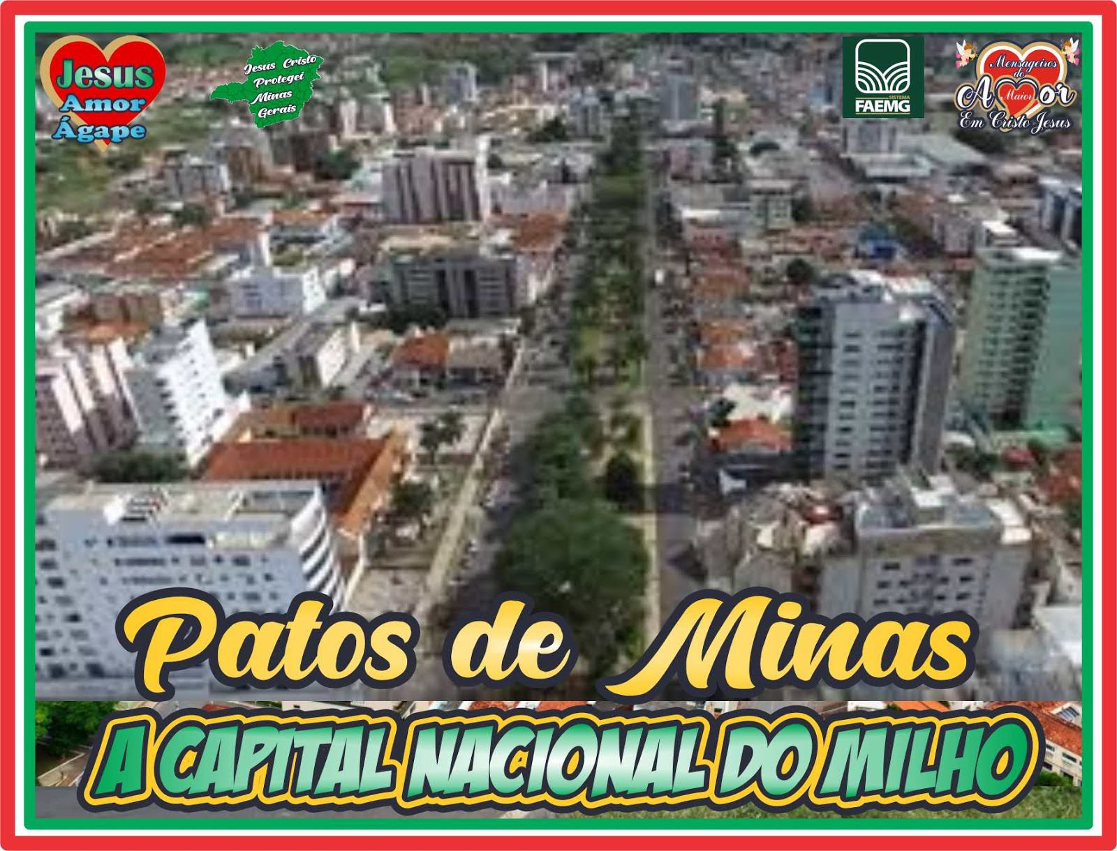 Vista Panorâmica de Patos de Minas