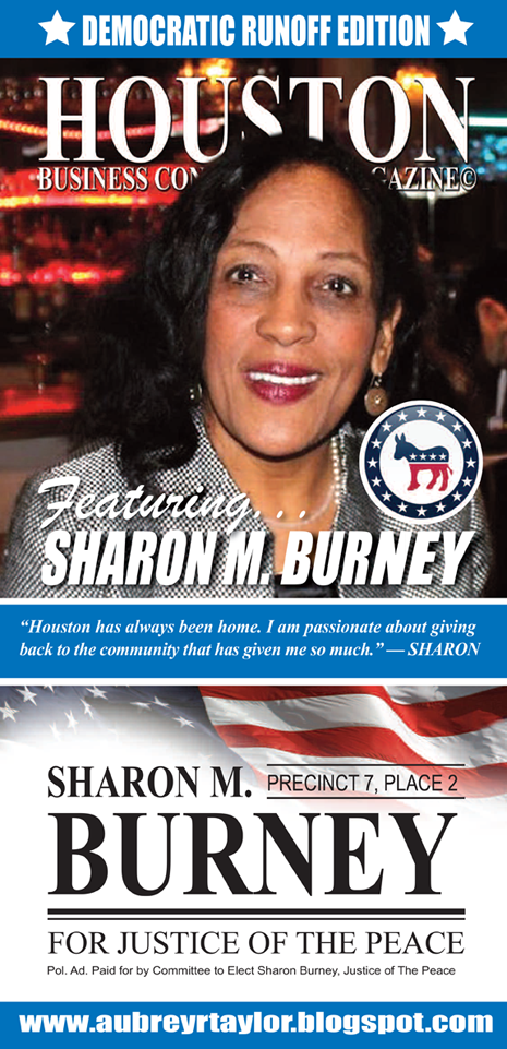 CONGRATULATIONS TO ATTORNEY SHARON M. BURNEY FOR WINNING THE DEMOCRATIC NOMINATION