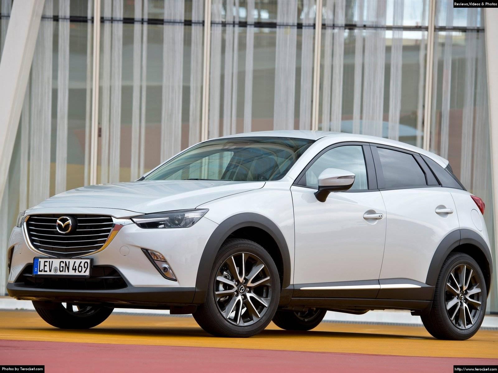 Hình ảnh xe ô tô Mazda CX-3 2016 & nội ngoại thất