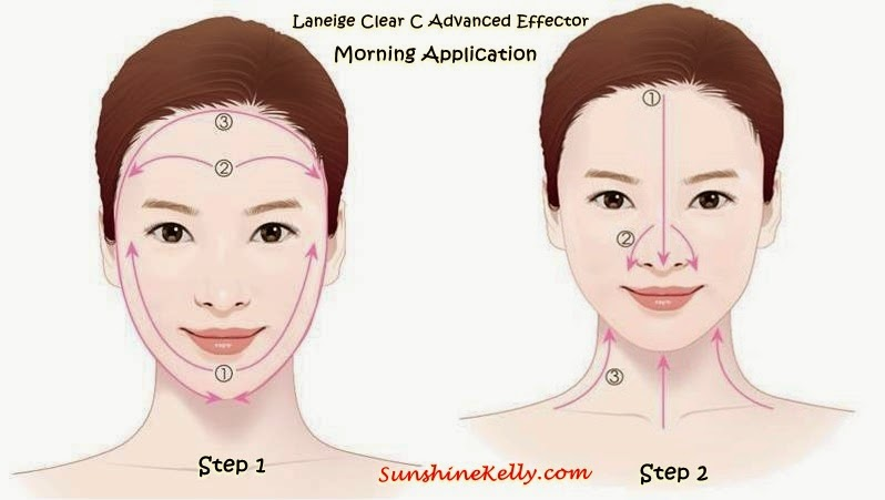 Laneige Clear C Advanced Effector, Clear C Advanced Effector, Laneige, Vitamin C Water, Song Hye Kyo, Skin booster, skin whitening, Laneige Facial Care Dual Cotton Pad