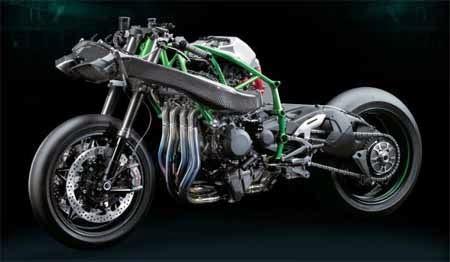 Gambar Motor Kawasaki Ninja H2