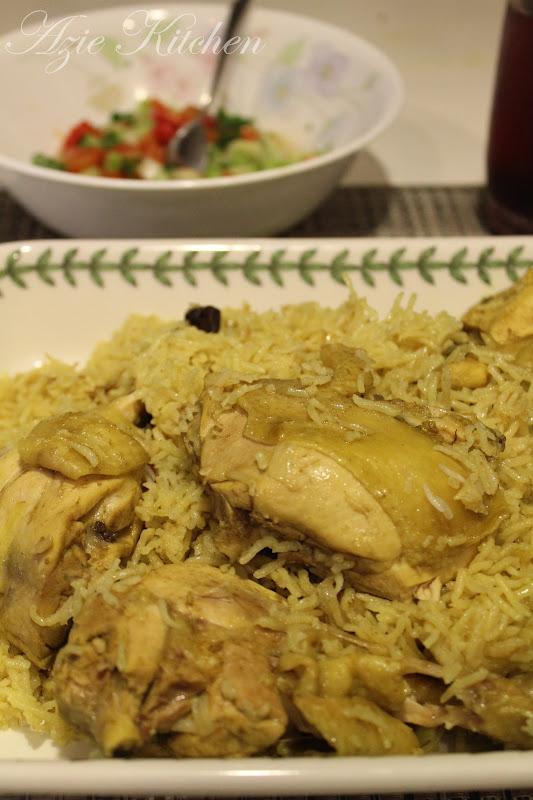 Resepi Nasi Beriani Ayam Azie Kitchen Nice Info A