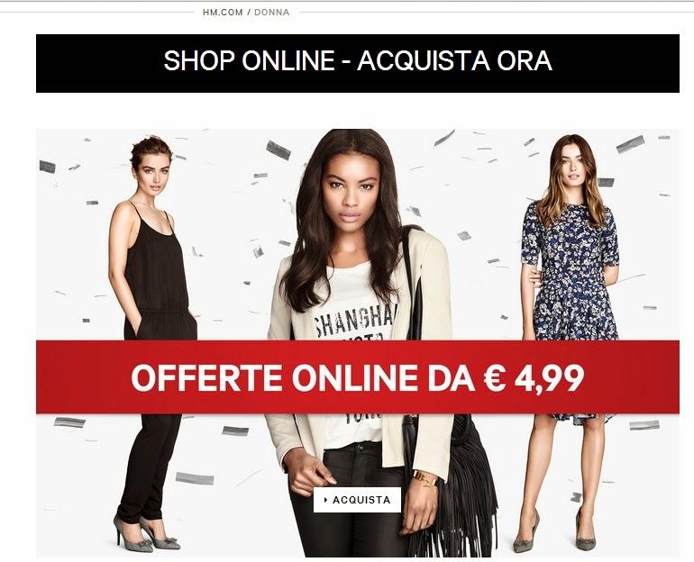h&m sconti shop online