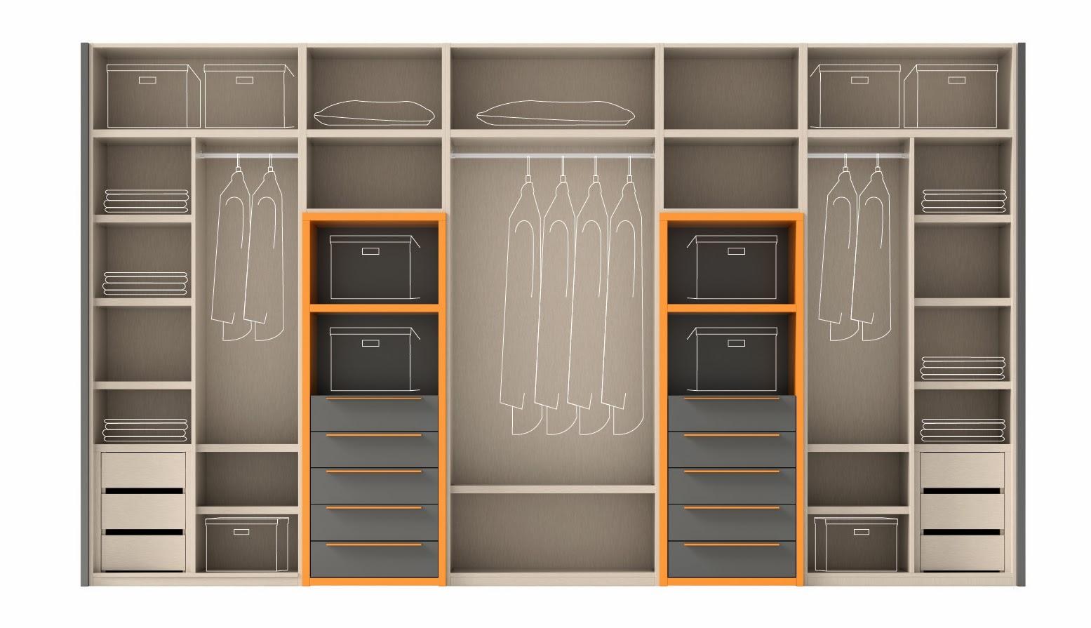 Armario y su interior configura el interior de tu armario for Armario para zapatos