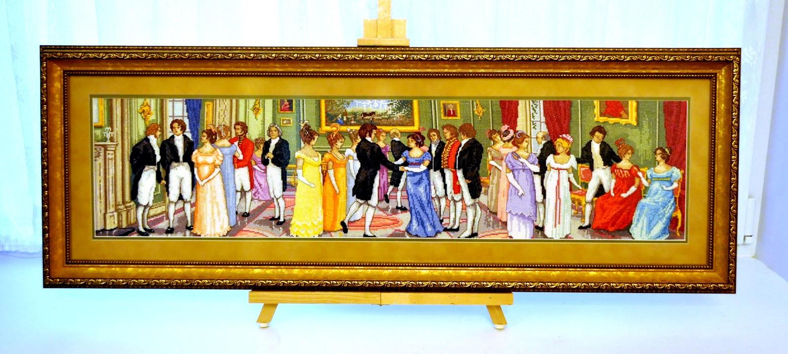 Вышивки крестом дворянское собрание