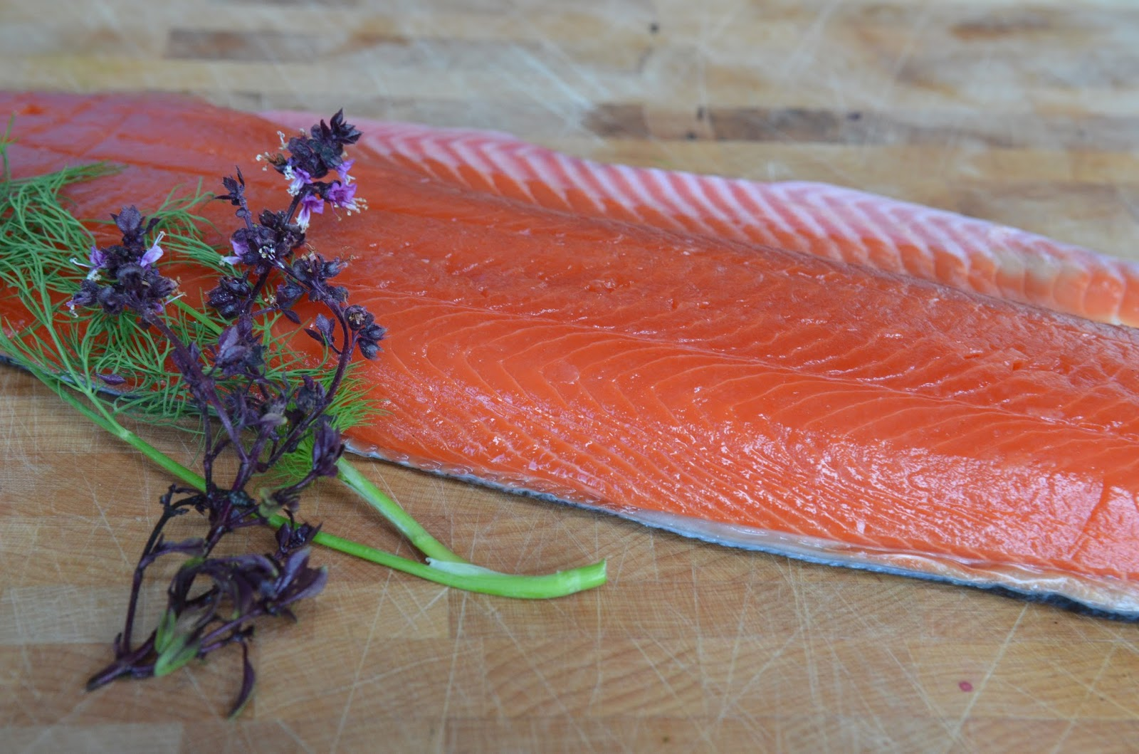 The Food Lane Kitchen: Sockeye Salmon Tartare and more...