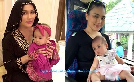 Fasha Sandha Seronok jadi mama